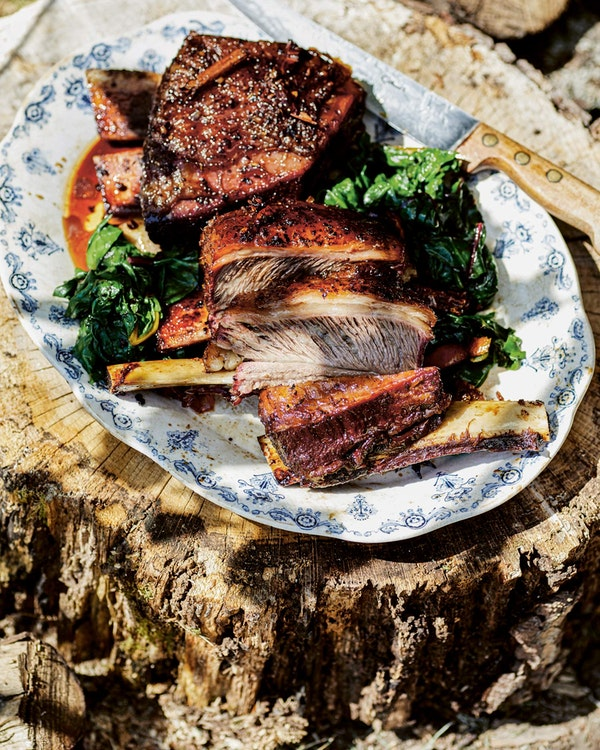 Fragrant Sichuan Short Ribs | Cooking on the Big Green Egg | James Whetlor Cook Book