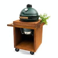 Corten Table 65 PRO Teak Wood