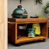 Corten Table 135 Teak Wood | Bases & Tables | Big Green Egg