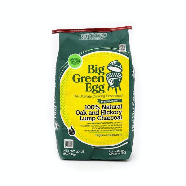 Oak & Hickory Lumpwood Charcoal | Fuel | Big Green Egg