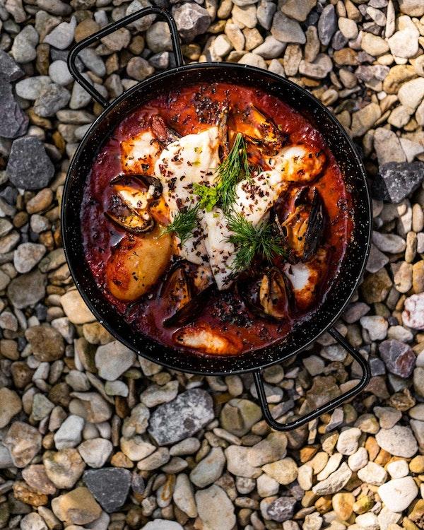 Fish Stew | Pan cooking | Recipe | Big Green Egg
