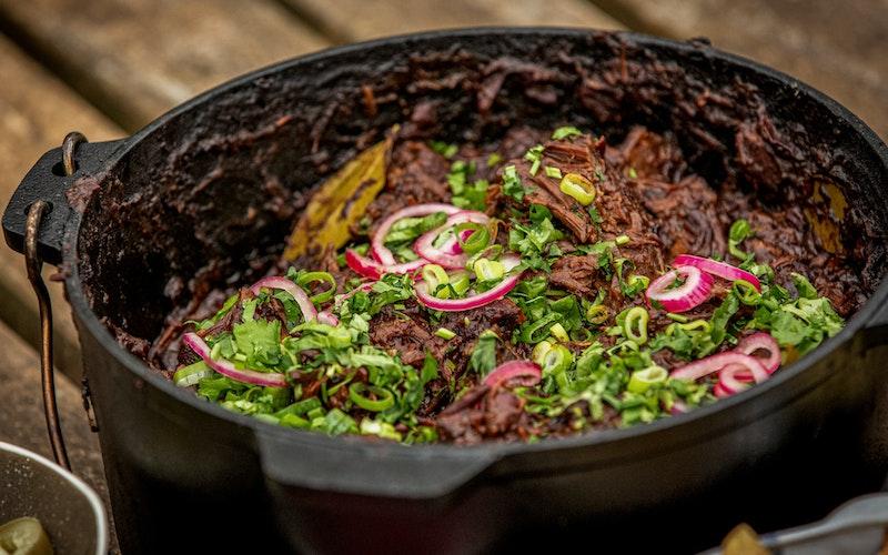 Smoked Chilli | Beef Recipes | Pan Cooking Recipes | Big Green Egg