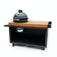 Black Table 135 PRO Teak Wood