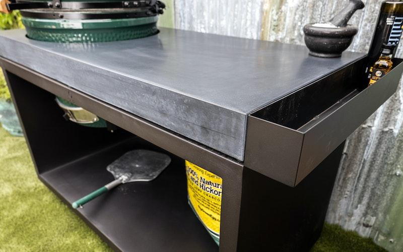 Black Table 135 Concrete   Tables   Bases   Large Big Green Egg