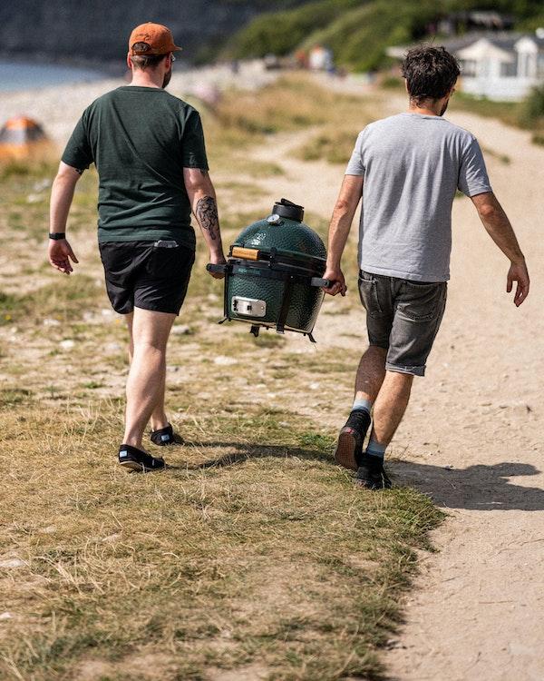 MiniMax on an adventure | Big Green Egg