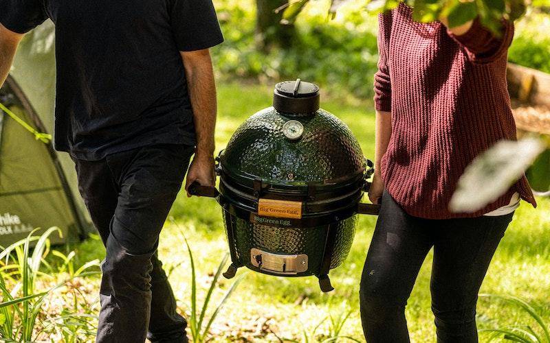 MiniMax going camping | Big Green Egg