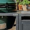 Modular Nest + Expansion Cabinet + Distressed Acacia Shelf   Bases   Big Green Egg