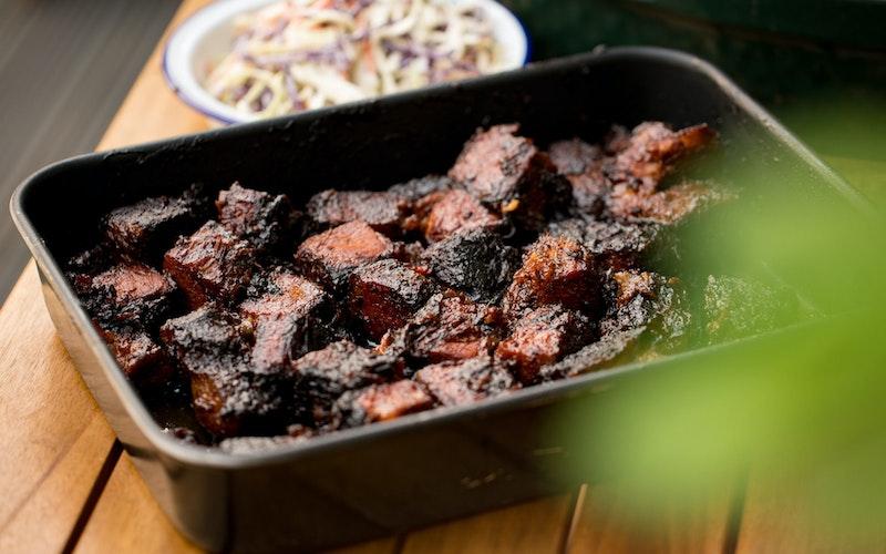 Brisket burnt ends | Beef recipes | Low & Slow | Pitmaster | Big Green Egg