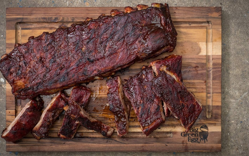 St Louis style ribs | Pork Recipes | Low & Slow | Big Green Egg