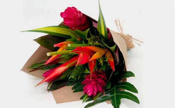 RAINFOREST TROPICAL FLOWERS