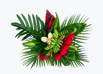 Pink Tropical Flower Bouquet - Image#2821145