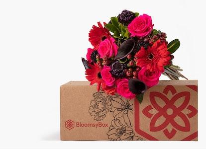 Wild Berries Bouquet - Red Gerber - Black Mini Calla - Image#3358705