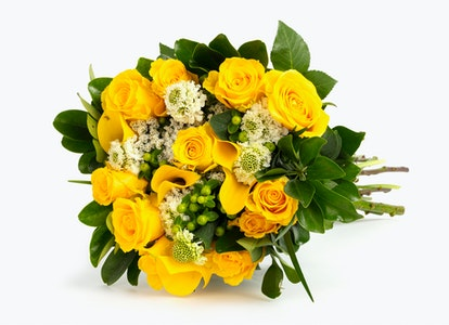 Ray of Light Premium Yellow Flower Bouquet | BloomsyBox - Image#4581672