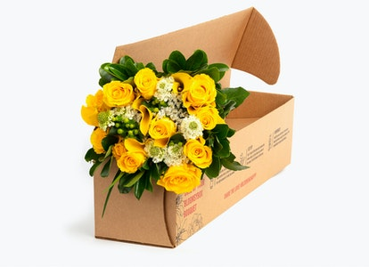 Ray of Light Premium Yellow Flower Bouquet | BloomsyBox - Image#4581676