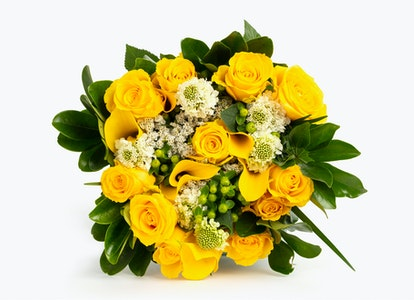 Ray of Light Premium Yellow Flower Bouquet | BloomsyBox - Image#4581679