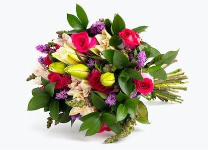 Pink Cupcake Premium Pink Bouquet | BloomsyBox - Image#4581881