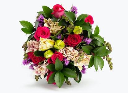 Pink Cupcake Premium Pink Bouquet | BloomsyBox - Image#4581894