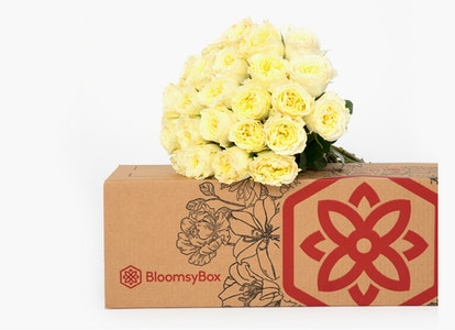 White Garden Rose - White Garden Rose Delivery | BloomsyBox - Image#4612694