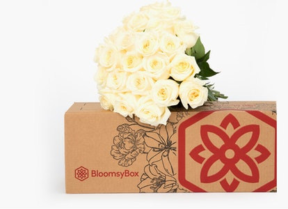 White Garden Rose - White Garden Rose Delivery   BloomsyBox - Image#4612830