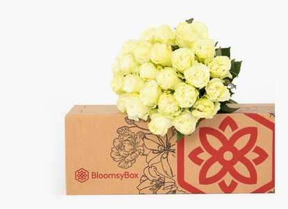 Moonstone Rose with Box