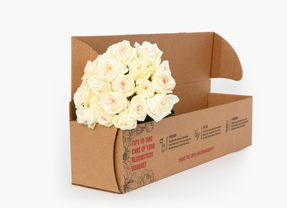 White Garden Rose - White Garden Rose Delivery   BloomsyBox - Image#4613559