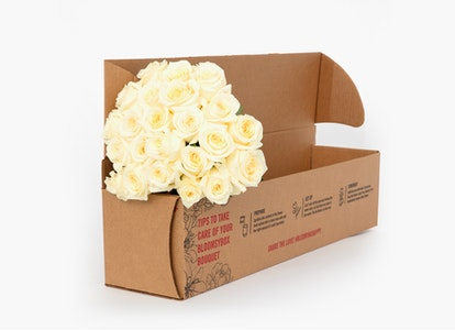 White Garden Rose - White Garden Rose Delivery   BloomsyBox - Image#4726416