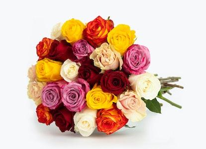 Rainbow Rose Bouquets - Image#6605737