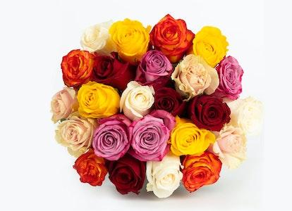 Rainbow Rose Bouquets - Image#6605741