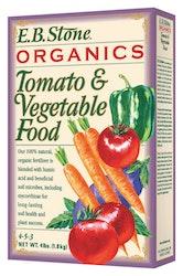 E.B. stone organics tomato and vegetable food