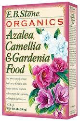 E.B. Stone Organics Azalea, Camellia & Gardenia Food 4 lb. Box