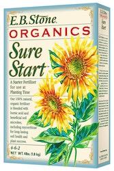 E.B. Stone Organics Sure Start Fertilizer 4 lb. box