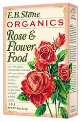 4 lb box of eb stone organics rose & flower food