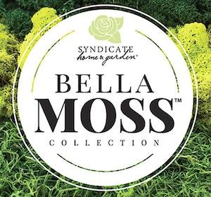 Syndicate home & garden bella moss collection logo