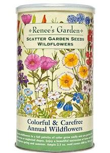 A package of Renee's Garden - Scatter Garden Seeds - Annual Wildflowers