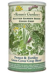 A package of Renee's Garden - Scatter Garden Seeds - Cover Crop