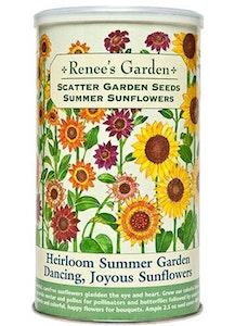 A package of Renee's Garden - Scatter Garden Seeds - Summer Sunflowers