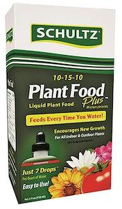 4 oz. package of schultz plant food plus 10-15-10