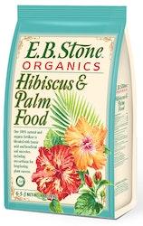 4 lb bag of e.b. stone organics hibiscus & palm food or fertilizer