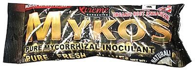 Mykos mycorrhizal inoculant xtreme gardening organic root enhancer