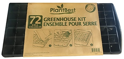 plantbest greenhouse kit 72 ct cell