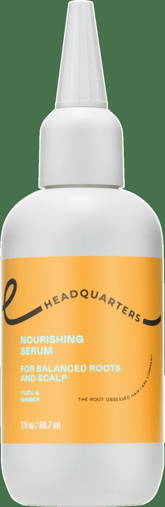 Headquarters Nourishing Serum Balanced scalp care bottle