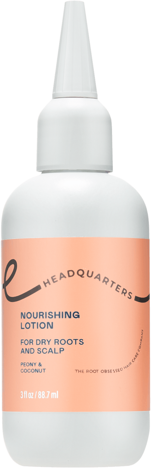 Headquarters Nourishing Lotion Dry scalp care bottle