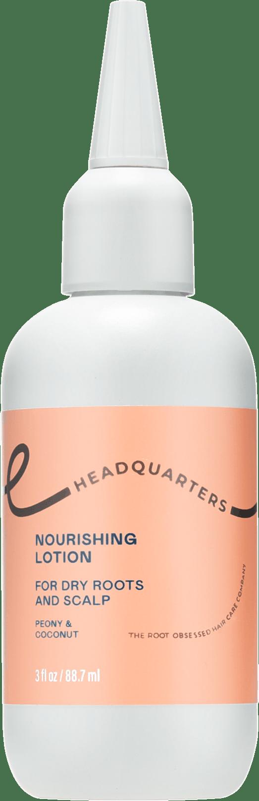 Headquarters Nourishing Lotion Dry scalp care bottle
