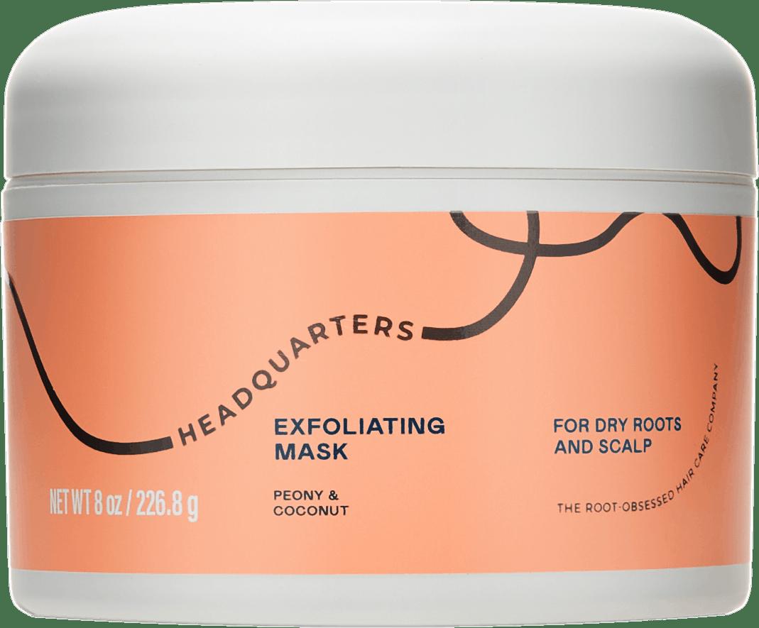 Headquarters Exfoliating Mask Dry scalp care bottle