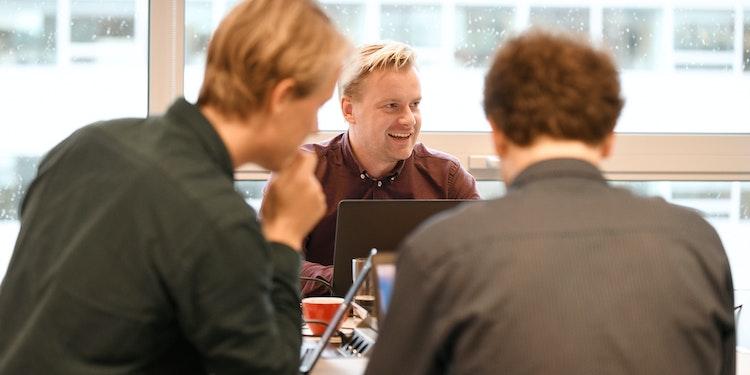 Furore collega's Matthijs, Steyn en Tim in overleg