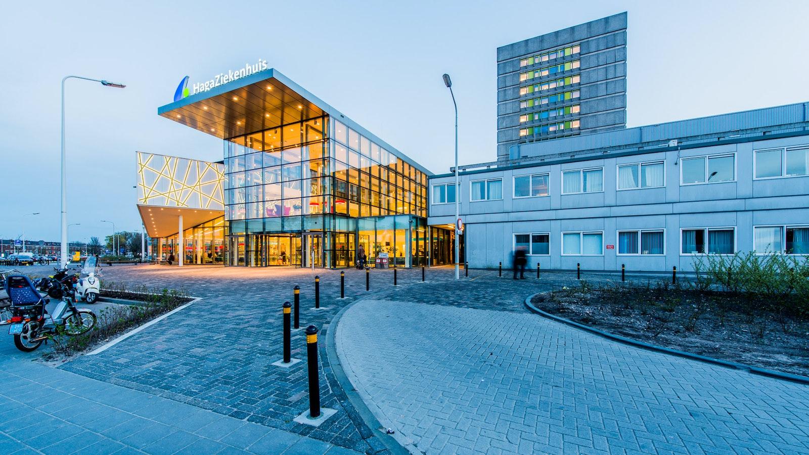 Facade Hagaziekenhuis Den Haag
