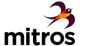 Mitros logo met witte achtergrond