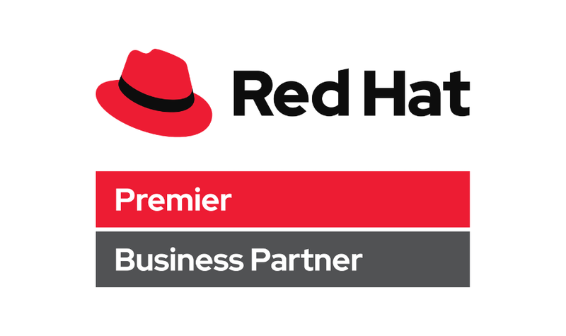 xforce Red Hat logo bussiness partner
