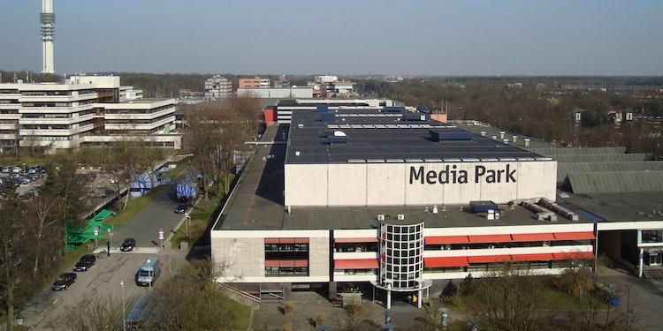 Overzicht mediapark Hilversum