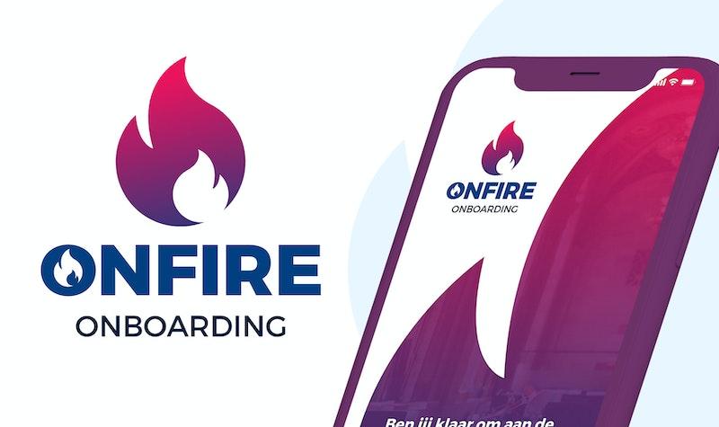 Schermafbeelding en logo van OnFire